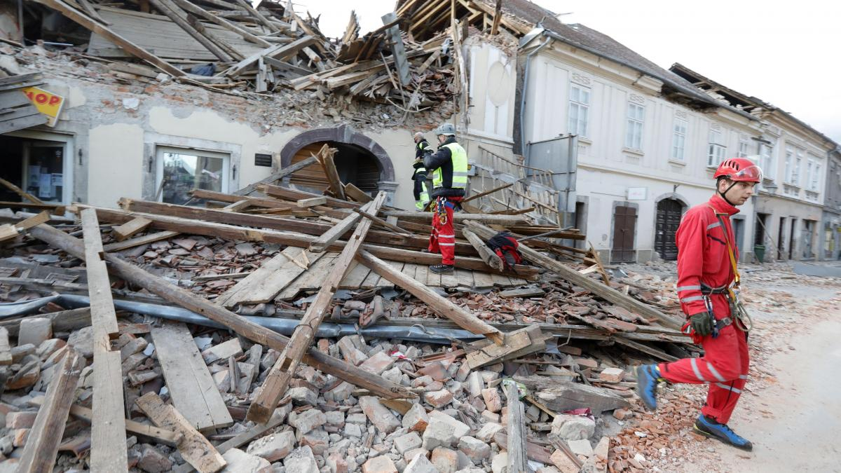 Dangerous earthquake in Croatia, second in 2020